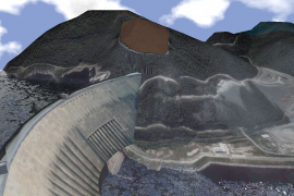 Landslide over the Sayano–Shushenskaya Dam